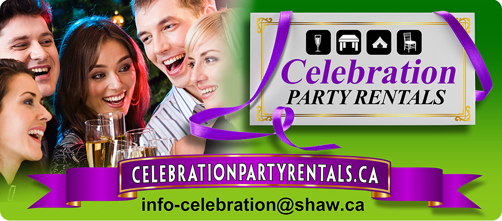 Party Rentals, Coquitlam, Port Coquitlam, Burnaby,  Vancouver
