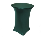 Spandex, Cocktail Table Cover Green