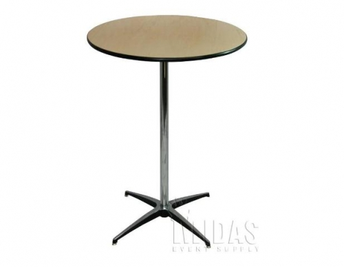 Table, Cocktail 30''R 42'' Tall