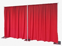 Event Draping, Red Poly Premier Incl. Hardware