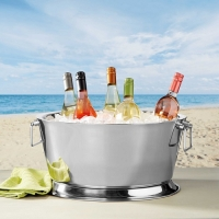 Beverage Tub, Stainless Steel Double Wall 17''