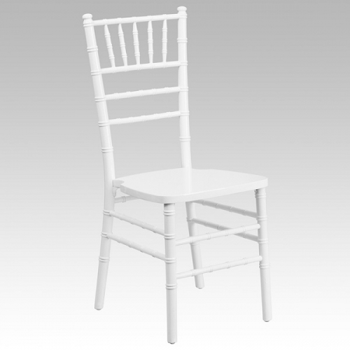 Chairs, Chiavari White PC  With Cushion