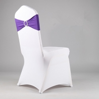 Chair Cover, Spandex White